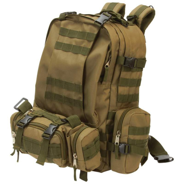 ExtremePakâ?¢ Water-Resistant, Heavy-Duty Backpack