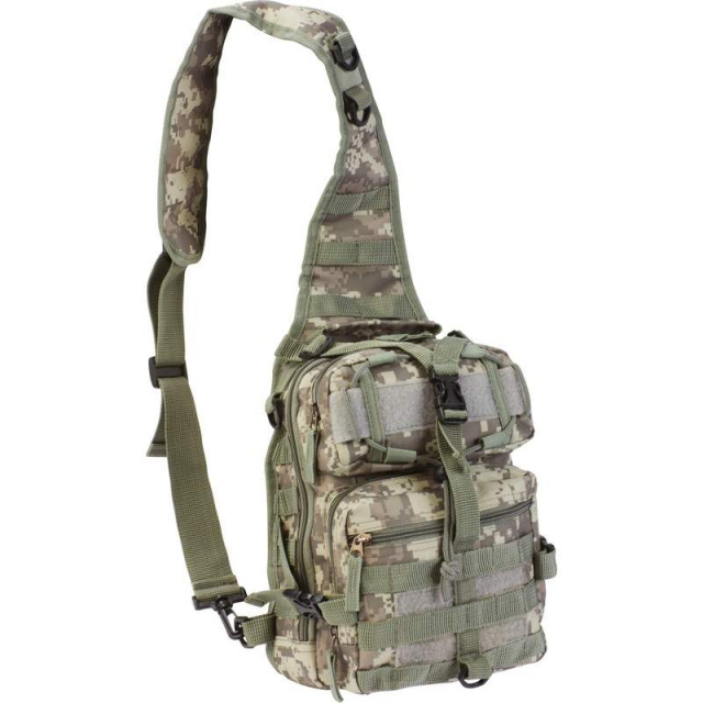 "Extreme Pakâ?¢ Digital Camo 11"" Sling Backpack"